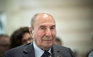 Serge DASSAULT lors des Etats généraux des comptes de la Nation le 6 juillet 2017. Ministère de l'Economie et des Finances, Paris.