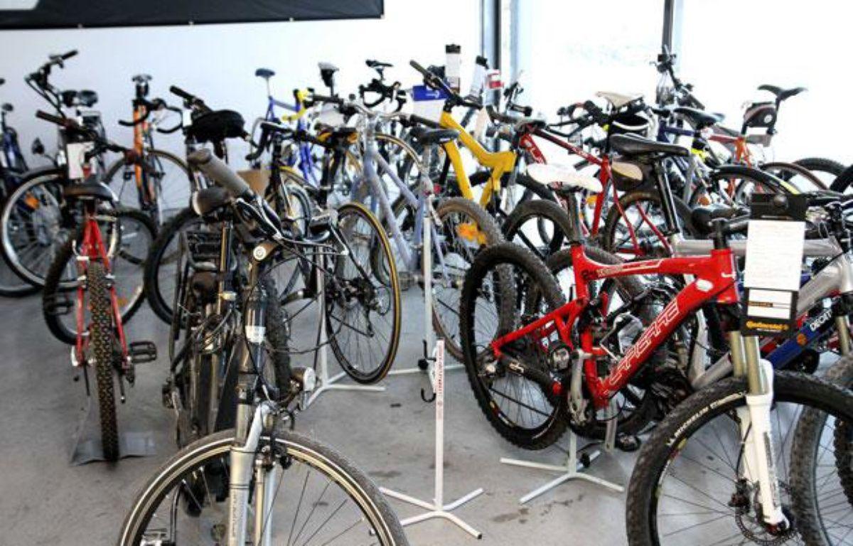 Environ 500.000 vélos sont volés chaque année en France. – ANGOT/SIPA