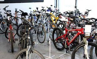 Environ 500.000 vélos sont volés chaque année en France.