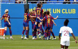 Le Barça bien parti face au PSG en demi-finale retour de la Ligue des champions.