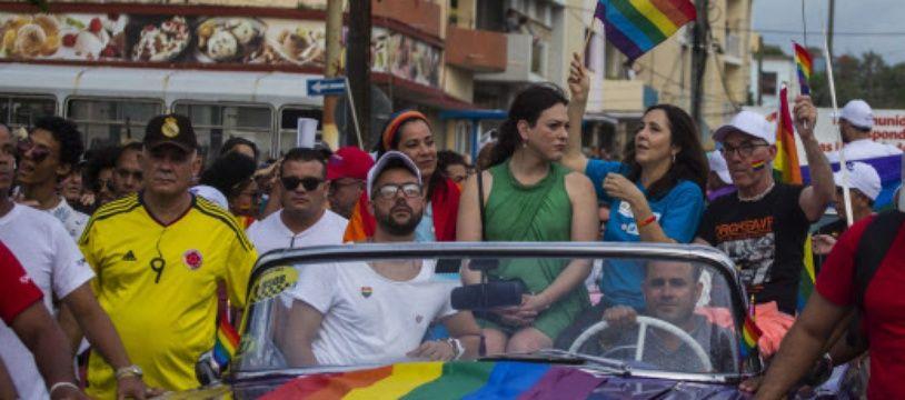La communauté LGBT a défilé dans les rues de La Havane cette année pour une Marche des fiertés.