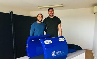 Darly Domvo et Johan Aliouat vient d'ouvrir un centre MBST par résonance magnétique.