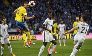 Les Bleus n'ont pu faire mieux que match nul en Suède en qualification au Mondial 2018, le 9 juin 2017.