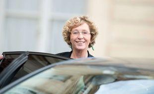 Muriel Pénicaud à l'Elysée, le 4 octobre 2017.