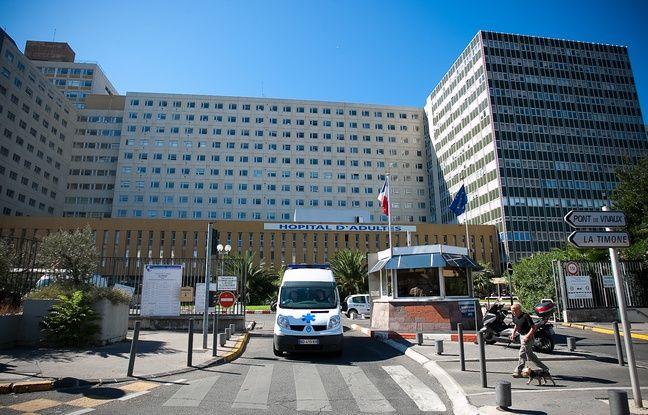 L'hôpital de la Timone.