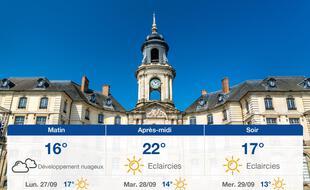 Météo Rennes: Prévisions du dimanche 26 septembre 2021