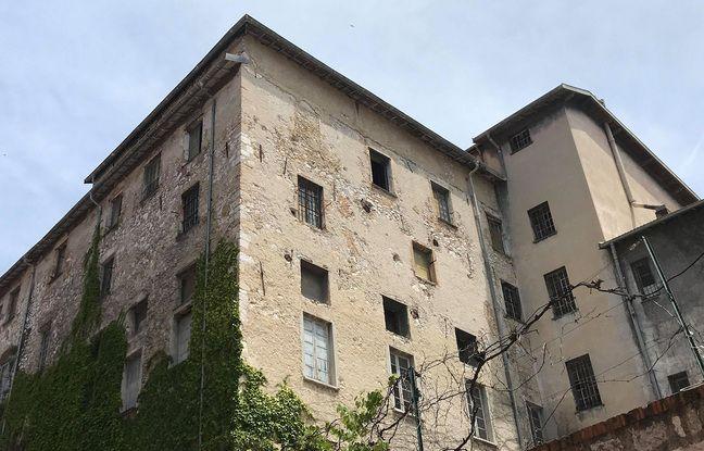 La bâtisse actuelle, vue depuis la rue des Serruriers (Archives)