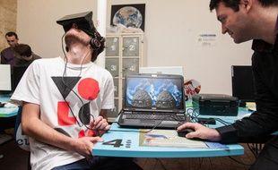 Les professionnels bordelais du jeu vidéo ont testé l'oculus rift au Node