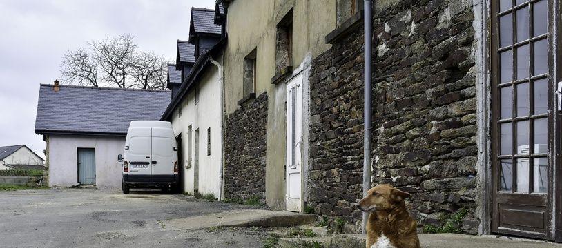Le domicile de Jérôme Gaillard, mari de Magali Blandin, à Montauban-de-Bretagne, à l'ouest de Rennes.