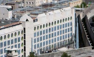 Vue générale de la prison des Baumettes le 25 avril 2012.