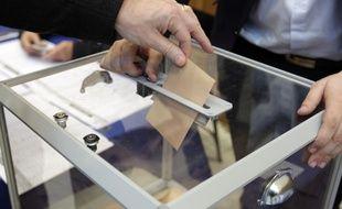 Illustration d'une urne électorale