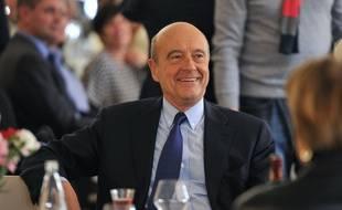 Le maire (LR) de Bordeaux est candidat à la primaire de la droite et du centre, dont le premier tour est organisé le 20 novembre./ AFP PHOTO / GUILLAUME SOUVANT