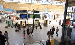 La gare de Rennes se prépare à des week-end chargés avec les vacances.