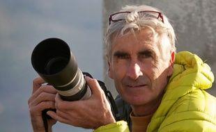 Le guide de haute montagne Hervé Gourdel, retenu en otage par un groupe jihadiste en Algérie.