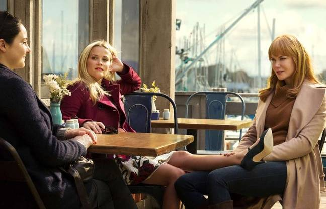 Shailene Woodley, Reese Witherspoon et Nicole Kidman dans « Big Little Lies »