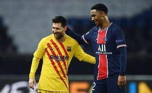 Leo Messi a subi la loi du PSG cette saison en Ligue des champions.