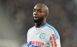 Lassana Diarra (OM) en décembre 2015 à Bordeaux.