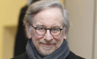 Steven Spielberg, le 26 janvier 2015.