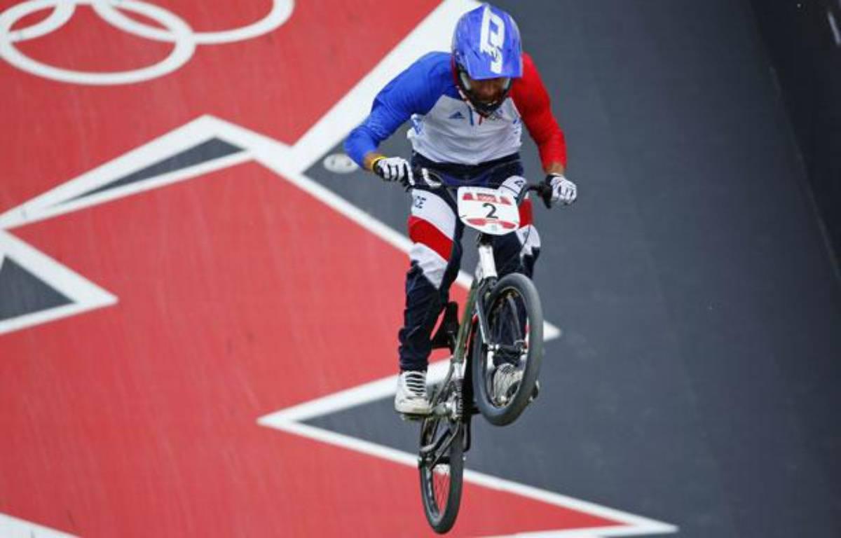 Joris Daudet lors des qualifications en BMX, le 8 août 2012 à Londres (Angleterre) – M.Blake/Reuters