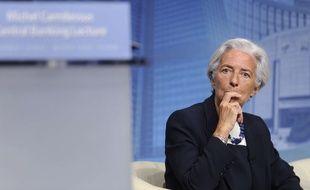 La directrice du FMI, Christine Lagarde à Washington, le 2 Juillet 2014. (AP Photo/Susan Walsh)/DCSW137/145716134009//1407021949