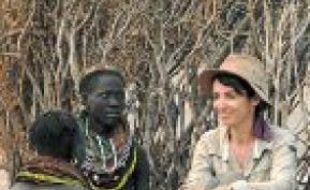 L'actrice s'est rendue en Ethiopie.
