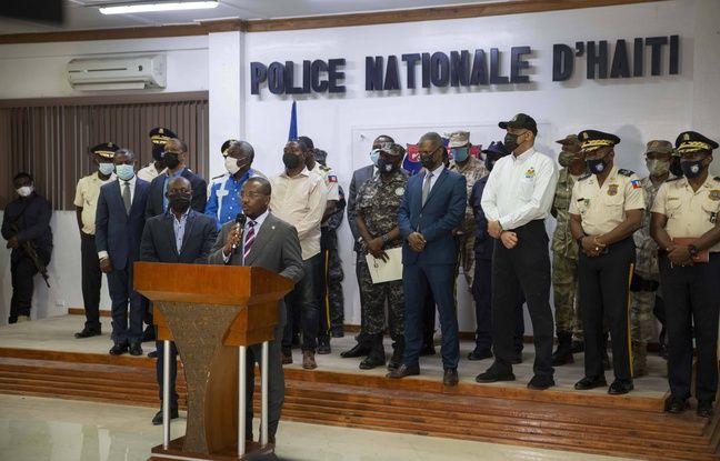 Le Premier ministre haïtien par intérim, Claude Joseph, le 8 juillet 2021.