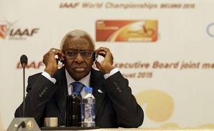 Lamine Diack, ancien président de la Fédération internationale d'athlétisme.