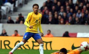 Neymar a ouvert le score face au Japon