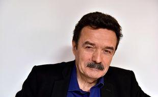 Edwy Plenel, cofondateur et président du site d'informations mediapart, le  7 mars 2016 à Paris