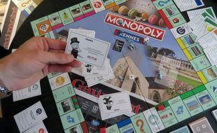 La nouvelle version du Monopoly Rennes a été tirée à 3.000 exemplaires.