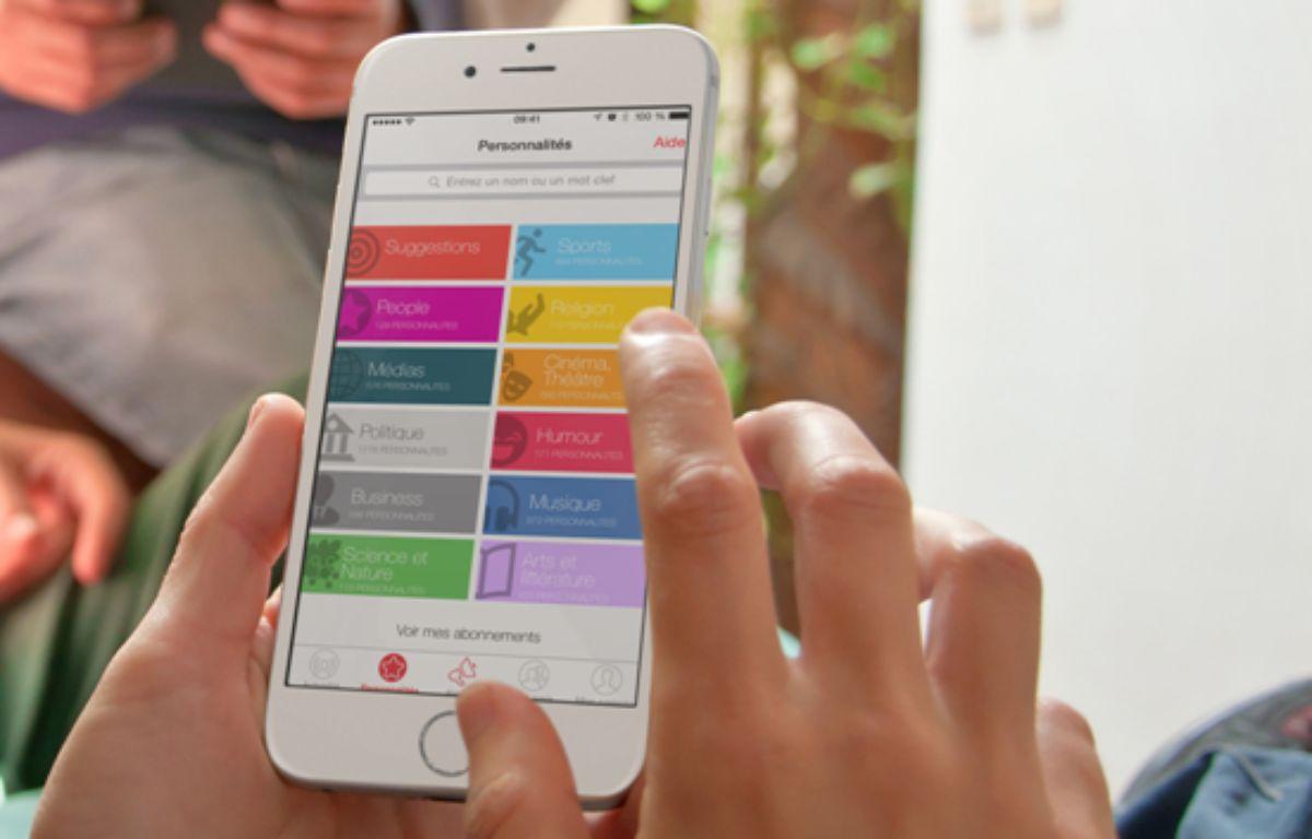 L'application onAir, créée par la start-up lyonnaise MCIS – MCIS