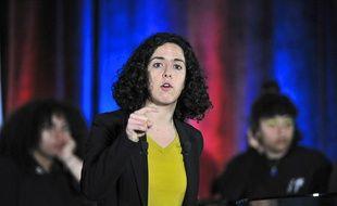 Manon Aubry est la tête de liste de La France Insoumise (LFI) pour les européennes de 2019.