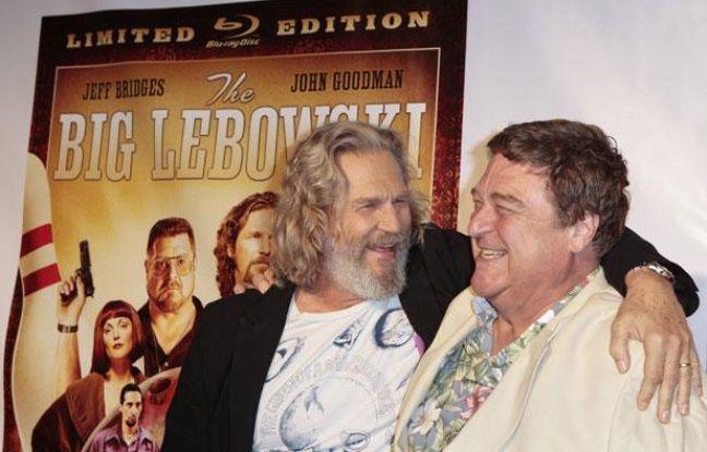 Jeff Bridges et John Goodman à l'occasion de la sortie en Blu-ray de «The Big Lebowski», le 17 août 2011, à New York.