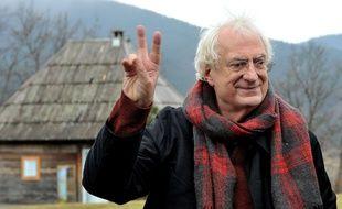 Bertrand Tavernier, le 23 janvier 2015, à Kustendorf, en Serbie.