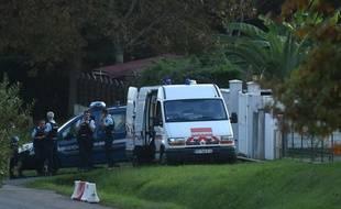 Les gendarmes ont perquisitionné lundi la maison de Claude Sinké.