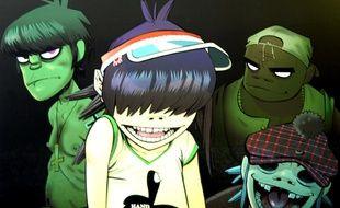 Les personnages de Gorillaz