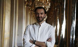 Cyril Lignac à l'Hôtel de ville de Paris, le 16 janvier 2016.
