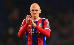 Arjen Robben lors du match entre Manchester City et le Bayern Munich le 25 novembre 2014.