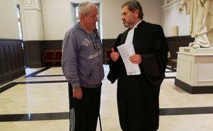 Jacques Broussal, et son avocat Pascal Nakache, ont obtenu plus de 1,2 million d'euros de dommages et intérêts contre la société Kiloutou.