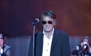 Jacques Dutronc au concert des  Vieilles Canailles en 2014