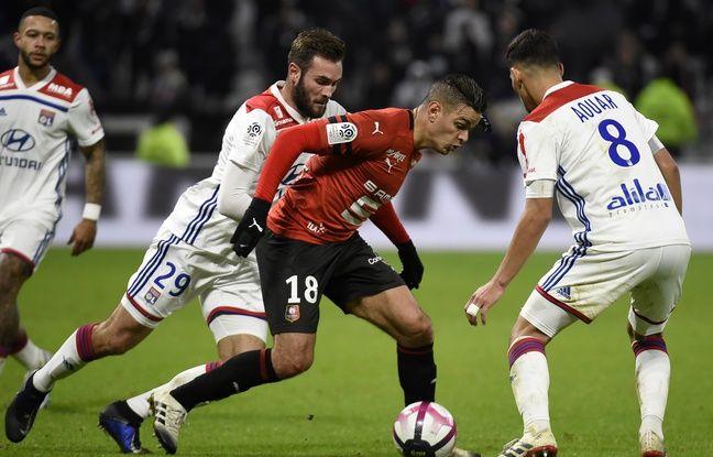 OL-Rennes: «Il est inarrêtable»... Hatem Ben Arfa a survolé son duel de meneurs de jeu avec Nabil Fekir