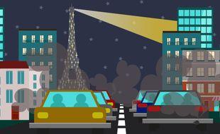 voitures pollution