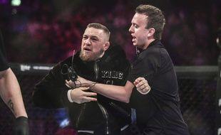 Le combattant MMA Conor McGregor en novembre 2017.