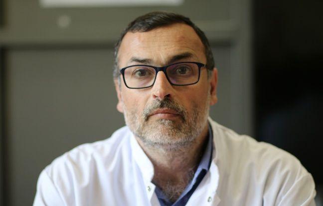 Le Pr Xavier Combes, chef du Samu au CHU de Bordeaux