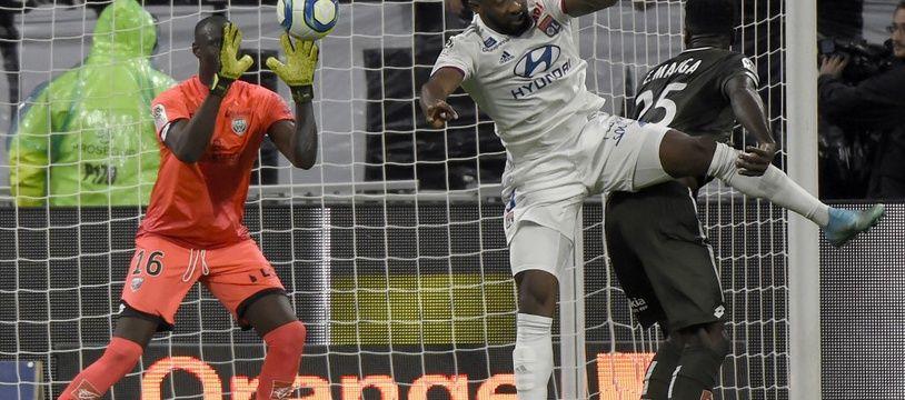 A l'image de Moussa Dembélé, les Lyonnais ont tout tenté en fin de rencontre mais ils ont sans cesse buté sur Alfred Gomis, excellent ce samedi.