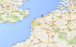 L'homme a été secouru au large de Dunkerque, dans le Nord.