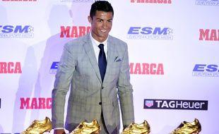 L'attaquant du Real Madrid Cristiano Ronaldo, le 13 octobre 2015, à Madrid.