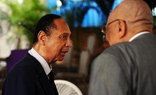 L'ancien président haïtien Jean-Claude Duvalier, le 5 juillet 2014 à Port-au-Prince
