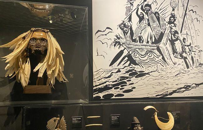 Η γκαλερί Hugo Pratt, Lignes d'Horizon, θα βρεθεί στο Musée d'Aquitaine έως τις 6 Φεβρουαρίου 2022