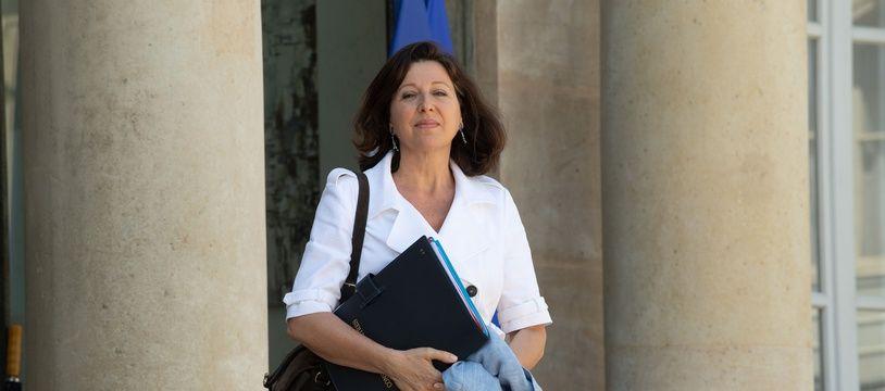 La ministre de la Santé Agnès Buzyn à la sortie de L'Elysée, le 3 juillet 2019.